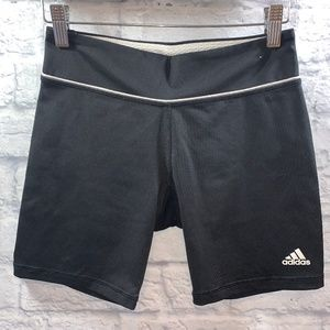 Adidas Spandex Workout Shorts • Sz S Black